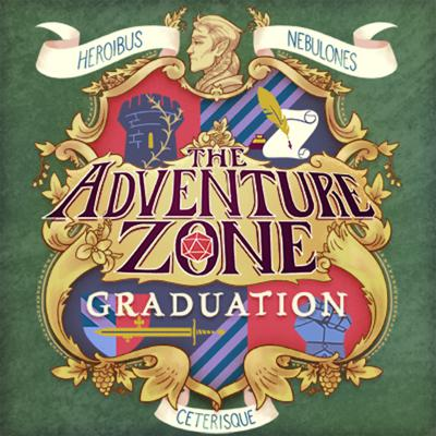 """Cover art for The Adventure Zone: Graduation Ep. 6 """"Long Overdue"""""""